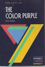 """ THE COLOR PURPLE "" LONGMAN LITERATURE GUIDE by ALICE WALKER-  COLLECTABLE ITEM"
