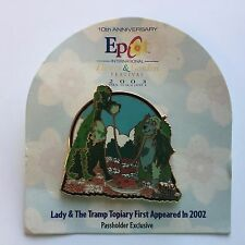 Epcot International Flower Garden Festival 2003 Lady and Tramp Disney Pin 21621