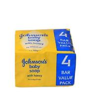 Johnson's Baby Soap Honey With Baby Oil (4 x 100g Value Pack)  x 2