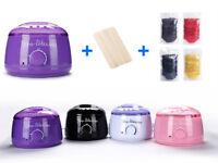 Wax Warmer Heater Pot Body Hair Removal Machine 14oz/3lbs Waxing Beans 10 Sticks
