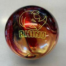 Brunswick Rhino Red/Black/Gold  Pearl  10 lb   ball  NEW IN BOX