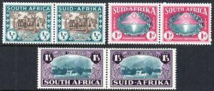 South Africa 1939 Huguenot Landing set, SG.82/4, mint, cat.£50