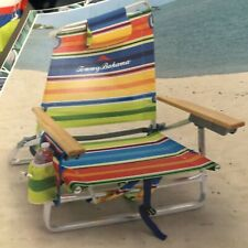 Tommy Bahama Backpack Beach Chair Bottle Opener Insulated Beverage Holder NEW