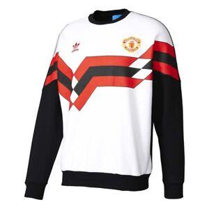 Adidas Originals - MUFC SWEAT CREW - FELPA FC MANCHESTER - art.  BQ3232-C