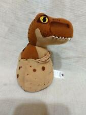 "Jurassic World Baby T Rex Plush in Egg 5"" Tyrannosaurus Rex"