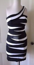 Womens Hannah S One Shoulder Pleated Ribbon Special Occasion Prom Party Dress 4