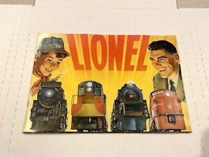 LIONEL ORIGINAL VINTAGE 1954 ELECTRIC TOY TRAINS CATALOG 44-PAGES STANDARD GAUGE
