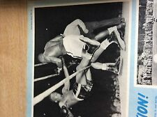q2-4 ephemera 1953 picture boxing ike williams jim carter