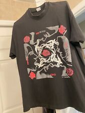 Vintage Red Hot Chili Peppers Shirt Blood Sugar Sex 1991 RHCP XL Fear Of God