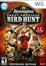 REMINGTON GREAT AMERICAN BIRD HUNT Nintendo Wii Game