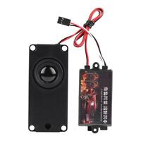 RC Car Engine Sound Simulated Module Simulator with Speaker for 1/10 Vehicle #GD