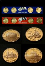 2009 P D Lincoln Bicentennial Satin Finish Set from U.S. Mint Set