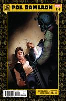 Star Wars Poe Dameron #14 40th Anniversary Variant HAN SOLO GREDDO MARVEL COMICS