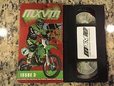 MOTOCROSS VIDEO MAGAZINE MXVM ISSUE 3 RARE VHS NOT DVD HART, MCGRATH, CARMICHAEL