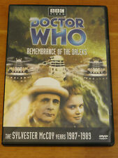 Doctor Who Remembrance Of The Daleks Story No. 152 Dvd 2010 Sylvester McCoy R1