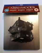 CABIN IN THE WOODS BLU RAY STEELBOOK (HMV EXCLUSIVE WITH REPLACEMENT DISC)