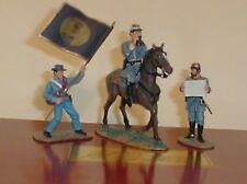 Britains, American Civil War, confederate Gettysburg command Set, 17224