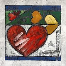 Ria Heart IV póster son impresiones artísticas imagen 60x60cm