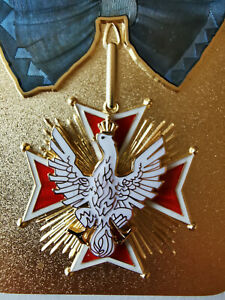 WHITE EAGLE ORDER the highest Polish state order NEW with CERTIFICATE OF AUTHENT