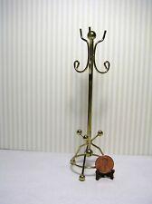Miniature Dollhouse Brass Coat Rack  215