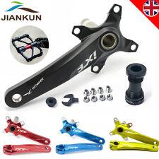 7Colors Crank set 9/16 Pedal Single/Double/Triple 104bcd MTB Road Bike Chainset