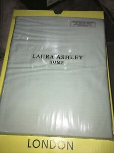 Laura Ashley King Size Fitted Sheet Duck Egg Blue B N I P