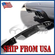 US Carbon Fiber Rear Exhaust Trunk Bumper Diffuser Cover Fit BMW E46 M3 01-06 FM