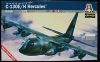 ITALERI 015 - Lockheed C-130E / H Hercules - 1:72 - Flugzeug Modellbausatz Kit