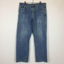 Hugo Boss Mens Blue Alabama Jeans W36 L30
