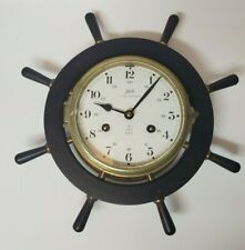 VINTAGE SCHATZ ROYAL MARINER GERMAN 8 DAY SHIP CLOCK COLLECTIBLE MARITIME
