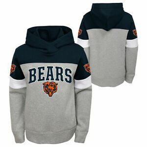 Outerstuff NFL Youth Boys (8-20) Chicago Bears First & Ten Pullover Hoodie