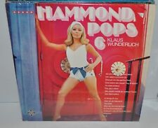 KLAUS WUNDERLICH: Hammond Pops 6 LP Record sexy Cheesecake Cover