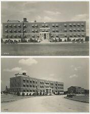 SET OF 2 PHOTOS - 1943 BUILDINGS SOUTH CAROLINA