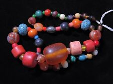 Beads - Antique Stone & Glass Beads Afghanistan Kuchi Tribal Jewellery Design