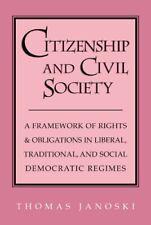Citizenship and Civil Society: A Framework of R. Janoski, Thomas.#