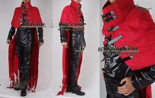 Final Fantasy FF7 Vincent Valentine Cosplay Costume Custom