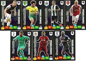 PANINI ADRENALYN XL 2019/20 FULL SET OF ALL 7 PREMIUM LIMITED EDITIONS