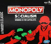 Monopoly Socialism Limited Edition Sealed NEW - SHIPS NOW