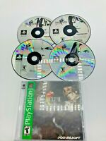 Sony PlayStation 1 PS1 Disc Manual Only Tested Final Fantasy VIII FF8 Ships Fast