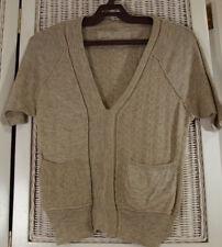 "ALLSAINTS ""Otoko"" Jumper UK8 S Oatmeal Short-Sleeve Top All Saints Knitwear"