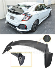 IMPERFECT For 16-Up Honda Civic Hatchback Type-R CARBON FIBER Rear Trunk Spoiler