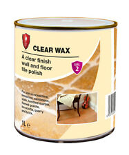 LTP Clear Wax 1ltr Wall & Floor Sealer & Polish for Tiles, Stone, Brick