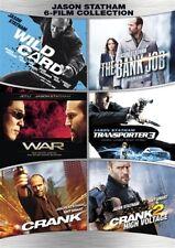 JASON STATHAM 6 FILM COLLECTION New DVD Wild Card War Transporter 3 Crank 1 + 2