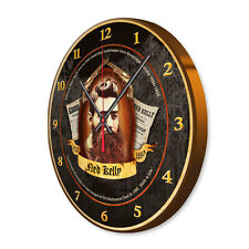 NED KELLY SOUVENIR/MEMORABILIA AUSTRALIAN BUSH RANGER WALL CLOCK NED KELLY CLOCK