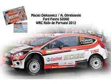 DECALS 1/43 FORD FIESTA S2000 WRC-#35 OLEKSOWICZ-RALLYE DU PORTUGAL 2012- NCM054