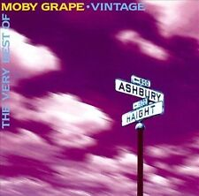 Vintage: The Very Best of Moby Grape by Moby Grape (2 CD, Jun-1996, Sony Music)