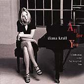 Krall, Diana : All For You : A Dedication to the Nat Ki CD