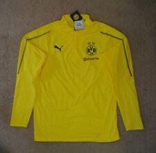 Puma Borussia Dortmund Bvb 1/4 Training top Large new tags $75