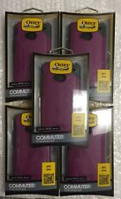 Lot Of 5 OtterBox Commuter HTC One (Purple) Case