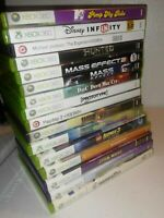 Microsoft Xbox 360 16 Video Game Bundle Lot Acceptable to Very Good